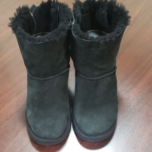 Black Bailey Bow UGG Boots